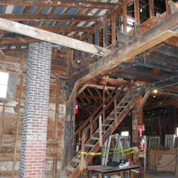 West end | Upper level looking at former stair to mezzanine